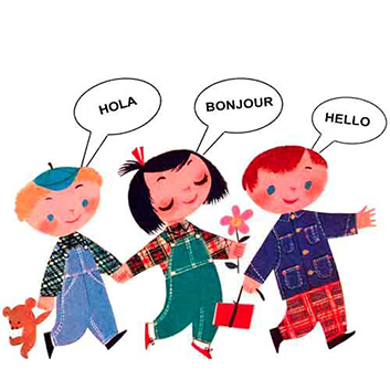 How do children learn a second language?