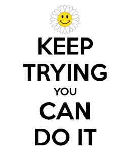 Image result for keep on trying